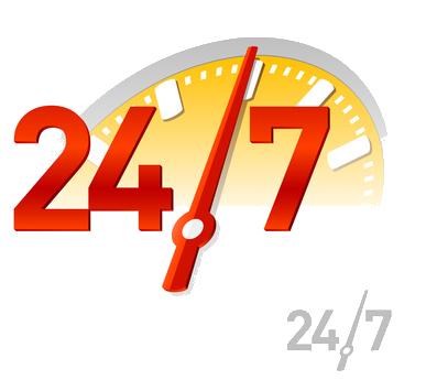 خدمات رسانی 24 ساعته