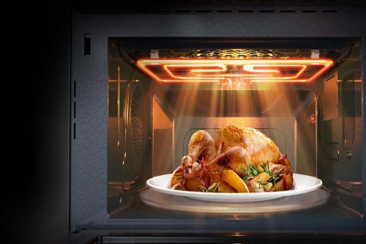 10 سطح قدرت پخت مواد غذایی با مایکروویو