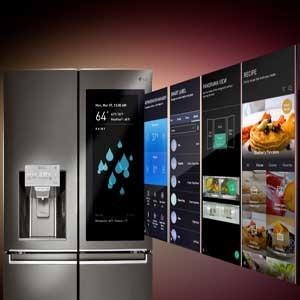 LG InstaView ThinQ™ یخچال