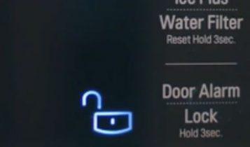 تنظیمات قفل درب یخچال