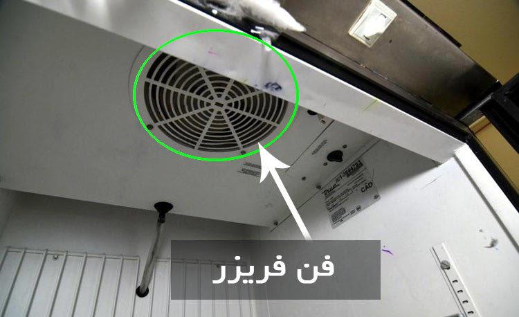 فن فریزر (Freezer Fan)