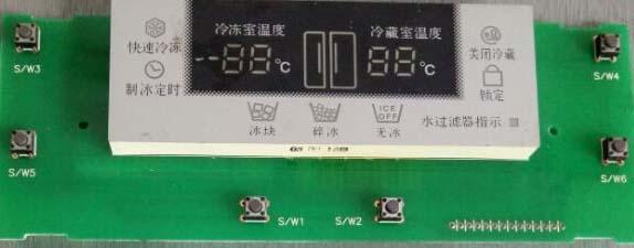 تعمیر برد دیسپلی(Display) یا نمایشگر یخچال سامسونگ