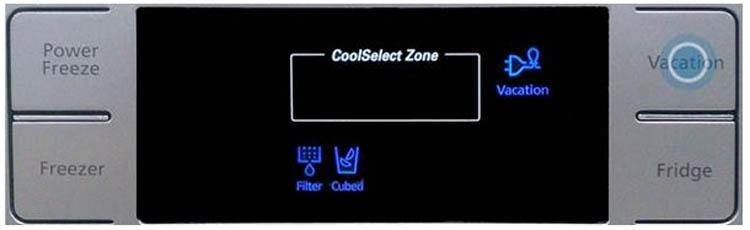 تعمیر برد دیسپلی(Display) یا نمایشگر یخچال آدمیرال