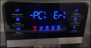 علت رخ دادن ارور PC ER یخچال سامسونگ