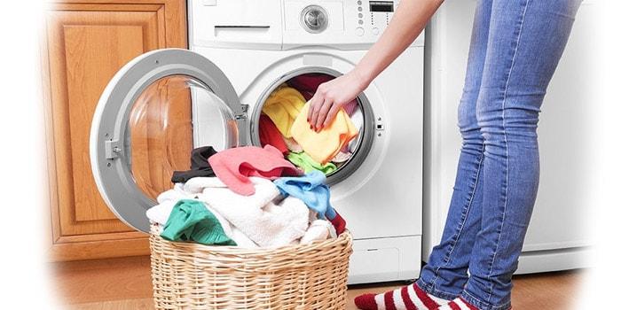 بالا بودن حجم لباس ها در لباسشویی
