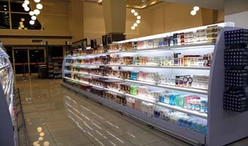 تعمیر یخچال فروشگاهی ویترینی