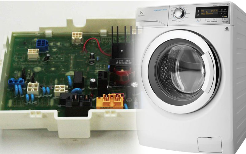 آموزش تعویض برد ماشین لباسشویی
