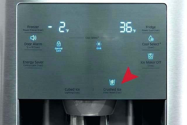 ریست فیلتر آب یخچال سامسونگ