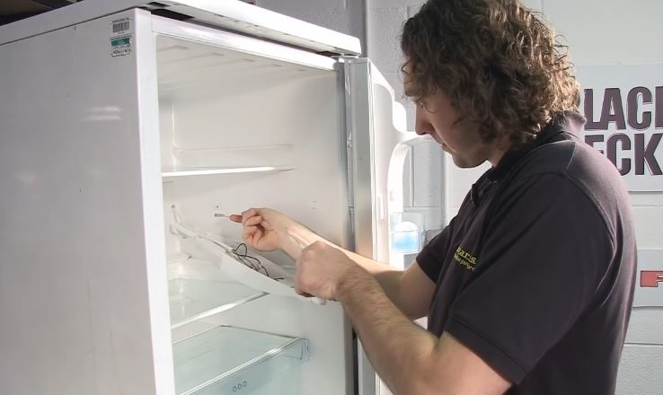 مراحل تعویض ترموستات یخچال فریزر