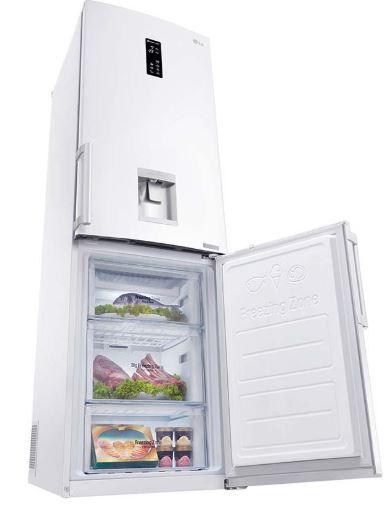 تعمیر یخچال LG مدل فریزر پایین