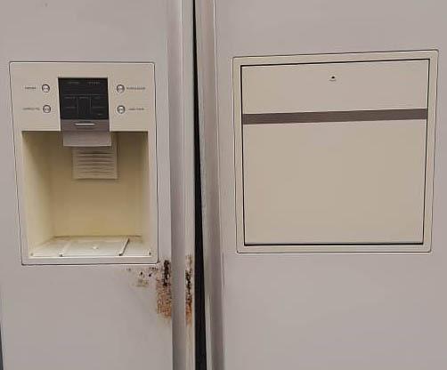 رفع و تعمیر زنگ زدگی درب های یخچال SAMSUNG