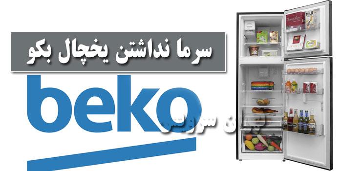 سرما نداشتن یخچال بکو Beko