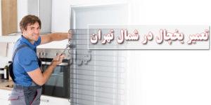 تعمیر یخچال در شمال تهران