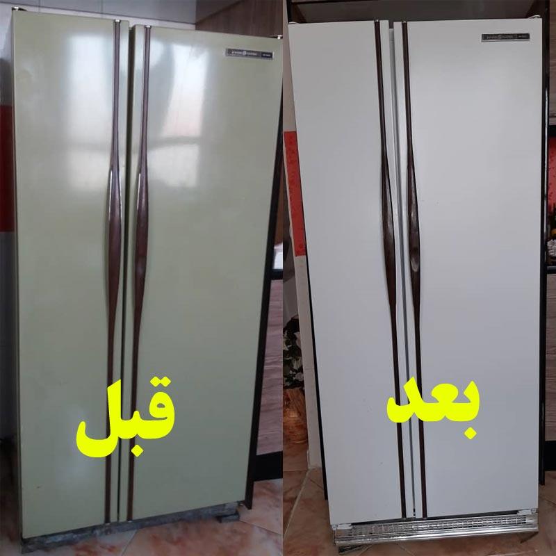 تعمیرات درب یخچال در نیاوران